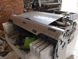 impresora modificada para impresión textil