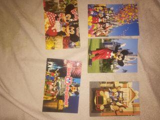 Postales antiguas de Walt Disney
