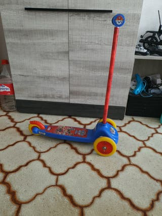 patin patinete 3 ruedas patrulla canina 10 €