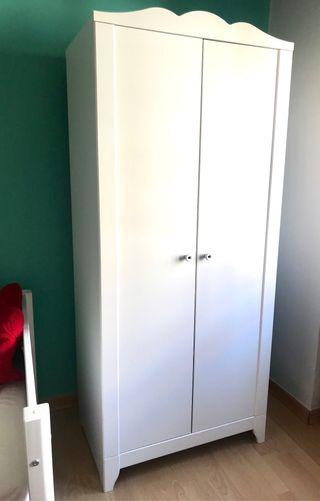 Armario infantil Ikea Blanco