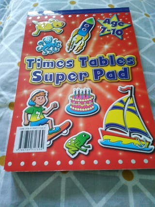 time tables super pad