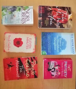 Libros Ingles: Paulo Coelho, C. R Hyde, N. Roberts