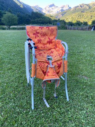 Trona plegable camping