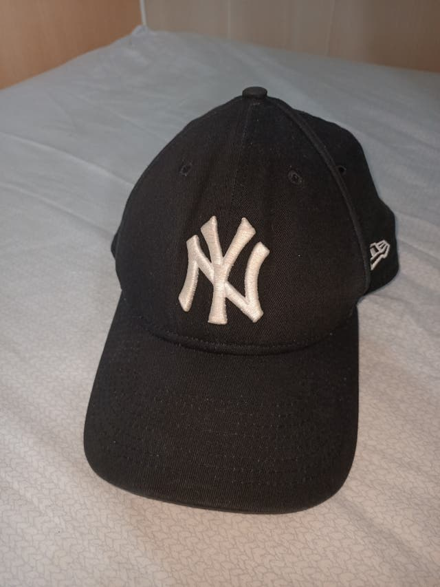 Gorra New York Yankees negra/blanca
