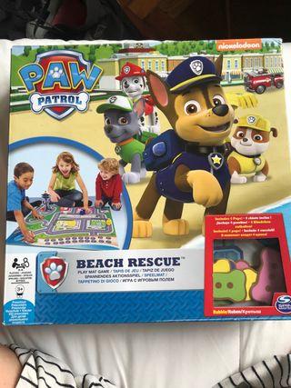 Juego Paw Patrol(Beach Rescue)