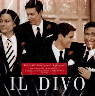 IL DIVO. IL DIVO. CD NUEVO PRECINTADO.