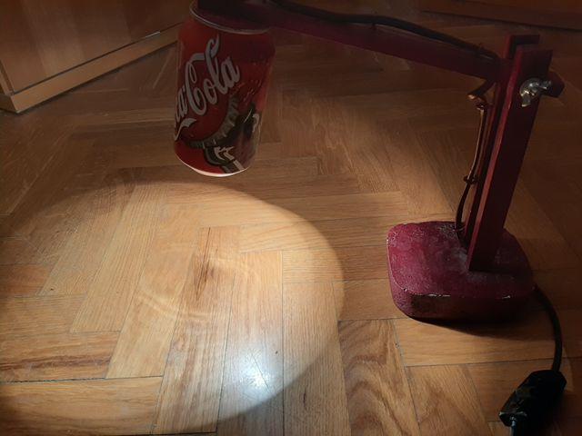 lampara de Coca Cola vintage
