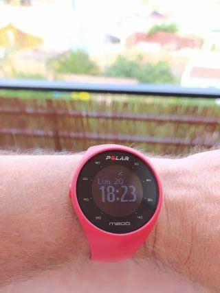 Reloj POLAR M200 Rojo
