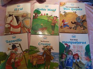 libros clásicos adaptados a niños