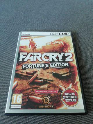 juego Far Cry 2 Fortune's Edition para pc