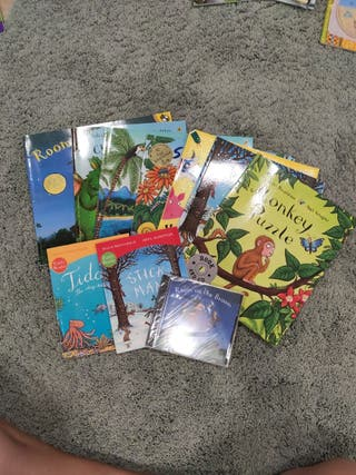 Lote 9 libros inglés de Julia Donaldson