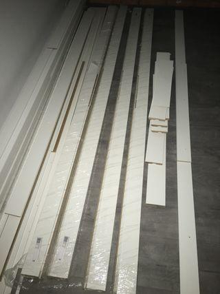 Jambas blancas para puertas 7cm