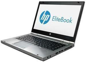 HP 8470P i5 8gb RAM 256 ssd