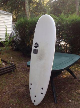 Tabla de surf blanda (softboard)