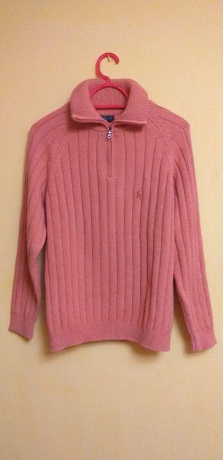 Jersey de lana y algodón