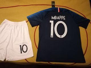 Camiseta Mbappe