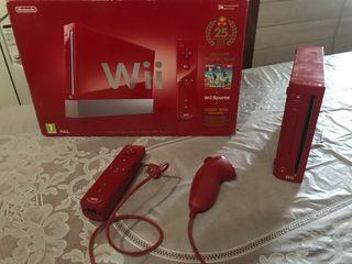 Wii Roja edición coleccionista