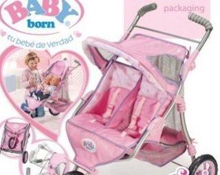 Carrito de gemelos - baby born
