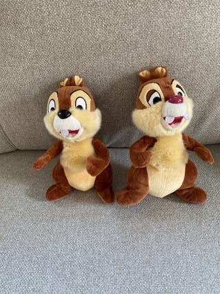 Set Peluches Chip y Chop