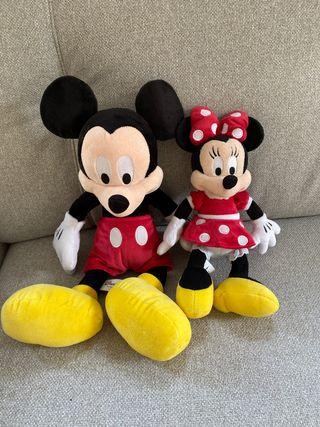 Set Peluches Mickey & Minnie