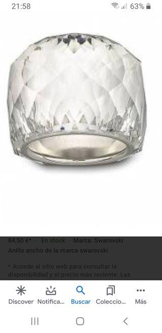 anillo de Swarovski (OFERTA)
