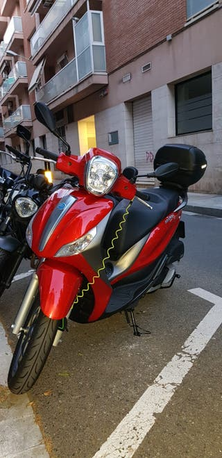 MOTO PIAGGIO MEDLEY S 125cc