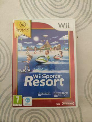 juego Wii Sports Resosrt