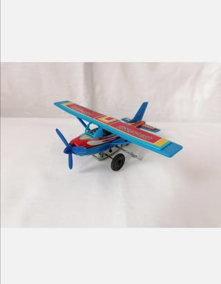Avioneta Cessna Hojalata
