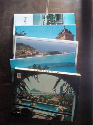 Desplegables de postales
