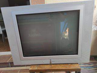 TV televisor antiguo