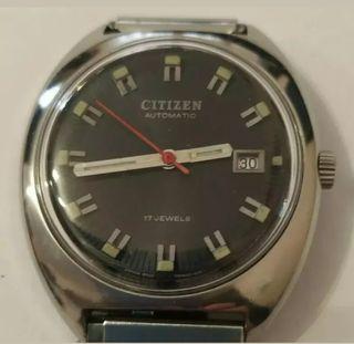 reloj citizen automático vintage caballero