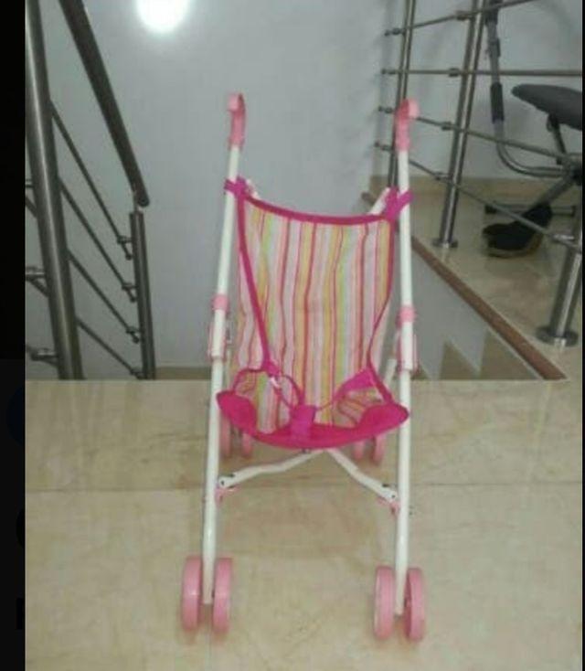 silla paseo muñecas plegable