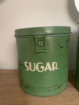 Lata rústica Sugar