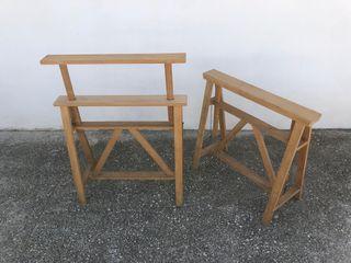 Trípode de madera