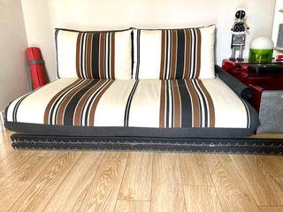Tatami y sofá cama con látex de Futonia