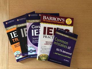 IELTS - Pack libros y CDs prep. examen inglés