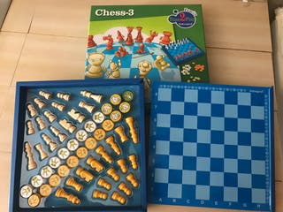 Juego de ajedrez infantil en ingkes