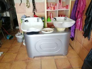 vendo lavacabeza doble