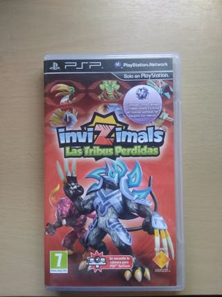 Invizimals Las Tribus Perdidas (PSP)
