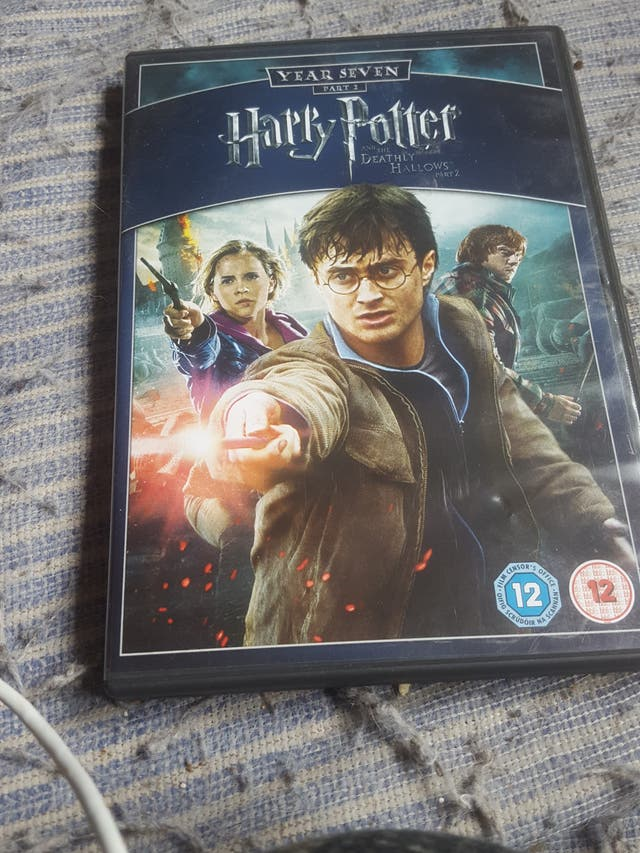 harry potter dvds