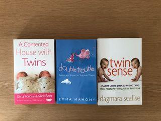 Libros bebés gemelos. Pack oferta