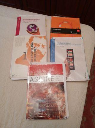 libros primero bachiller Sagasta ccss