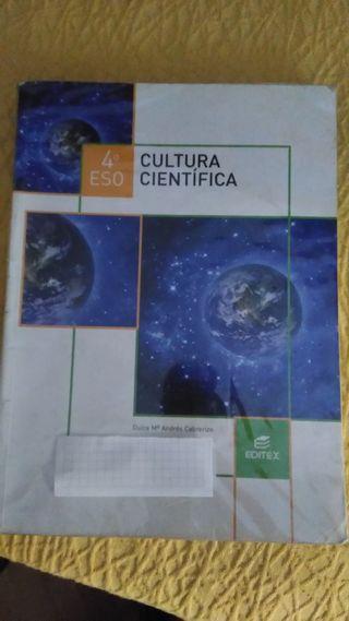 Libro de Cultura Científica 4º ESO