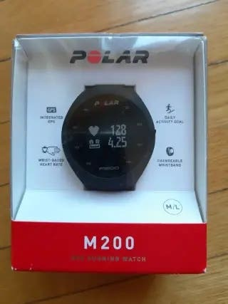 Reloj deporte polar m200