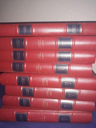8 tomos de la Enciclopedia Larousse L14