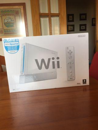 Consola Wii con todo