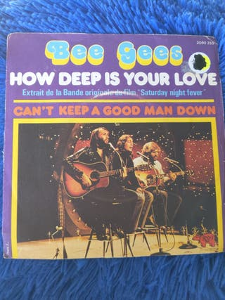 Vinilo Bee Gees - How deep is your love SINGLE