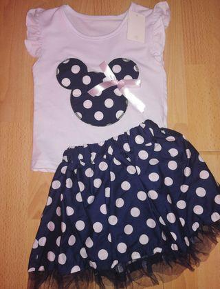 Conjunto Minnie Mouse 2 años a estrenar