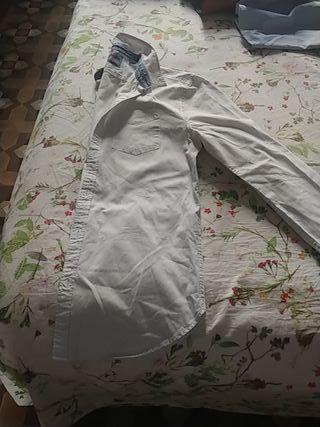 Camisa Caballero Blanca.