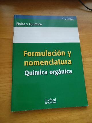 Libros de Física y Química Formulación